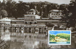 Romania - Maximum Postcard,maxicard 1971 -  Sovata Baths - Bear Lake - Holidays & Tourism