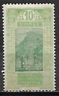 GUINEE    -   1922 . Y&T N° 85 * .  Gué à Kitim. - French Guinea (1892-1944)