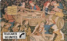 MUSEE ARTS ET TRADITIONS DES HAUTES COTES REULLE VERGY TAPISSERIE D'AUBUSSON RARE - Telefoonkaarten