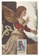 Carte Maximum  Peinture San Marin 1988 Melozzo Da Forli - Lettres & Documents