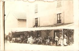 Champagnole :Carte Photo Restaurant ( R.Duprez ?) - Autres Communes