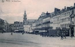 Belgique - Mons - Attelage Sur La Grand'Place - Mons