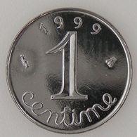 France, 1 Centime 1999, SPL, KM# 928 - A. 1 Centime