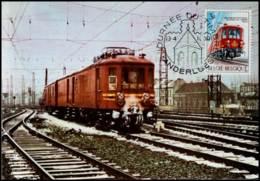 1488 - MK - Dag Van De Postzegel - Trein - Cartes-maximum (CM)