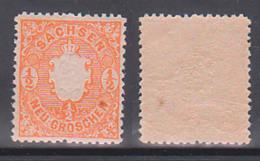 Sachsen 15 ** 1/2 Neugroschen Mit Originalgummi, Wappen - Sachsen