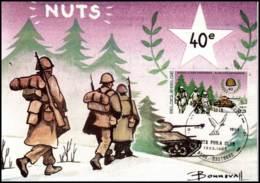 2187 - MK - De Slag Om De Ardennen #1 - Cartes-maximum (CM)