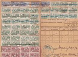 Steuermarken Quittungskarte  Baden & Elsass-Lothringen Strassburg 1892 - Other