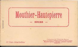 Superbe Carnet Mouthier-Hautepierre 10 Cpa - Collection De L'hôtel Du Manoir Tout Le Confort Moderne Dans Un Décor...... - France