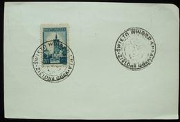 1945 Poland Polska Postmark Flamme Zielona Gora Winobranie Wine Vin Vino Grape Raision Uva Vignoble Vineyard - Machine Stamps (ATM)