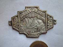 Grotte De HAN (plaque) 5,03 Cms - Oggetti 'Ricordo Di'