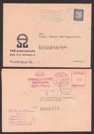 DDR ZKD AFS GHG Textilwaren Leipzig Und VEB Asbestdraht BERLIN O17 Mit B3 - Service