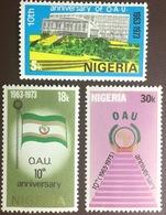 Nigeria 1973 OAU Anniversary MNH - Nigeria (1961-...)