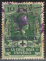 Sello 10 Cts Cruz Roja Española 1926, GUINEA Española, Num 180 º - Guinea Spagnola
