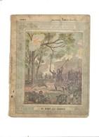 Anecdotes Militaires En Avant Les Zouaves Couverture Protège-cahier Passable 3 Scans - Protège-cahiers