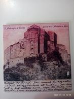 1 Calamita SACRA SAN MICHELE Italia 1902 Aimant Imanes Soft Touch Velluto Opaco 65x65 Carta Foto Handmade - Tourism