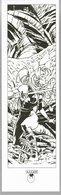 Marque-page A.LI.E.N ( Alien ) Alberto Varanda La Geste Des Chevaliers Dragons (2/2) - Marcapáginas