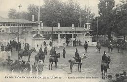 Exposition Internationale De Lyon 1914 - Entrée Principale (rive Droite) - Lyon