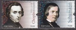 Portugal  2010 Chopin/Schumann  Michel 3478-79  MNH 27422 - Musique