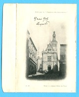 T - 79 - Niort : L'anciien Hôtel De Ville (Enveloppe-carte Protectrice Illustrée à L'intérieur) - Scan R&V - Niort
