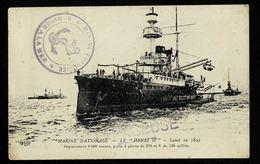 """POSTE NAVALE Marine Nationale Service à La Mer Griffes """"TAPAGEUSE"""" Cannonières Contre Sous-Marins Sur CP HENRI IV  TB - Altri"""