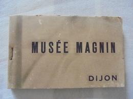 CARNET 25 CARTES POSTALES MUSEE MAGNIN DIJON - Dijon