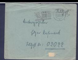 German Feldpost WW2: To France - 3. Leichtkranken-Kriegs-Lazarett Kriegs-Lazarett Abteilung 612 FP 02022 P/m Coburg - Militaria