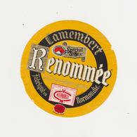 ETIQUETTE  DE CAMEMBERT RENOMMEE GAILLARD ET CHAUVEL 27 B (3 FRANCS 35) - Quesos