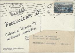 """CARTE ITALIE PUB MEDICALE RECTOCALCIUM """"D"""" - Italië"""