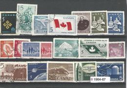 33824r ) Canada Collection Commemoratives 1964 1965 1966 1967 - 1952-.... Regno Di Elizabeth II