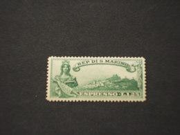 SAN MARINO - ESPRESSI - 1929 STATUA E UPU 2 VALORI -NUOVO(++) - Express Letter Stamps