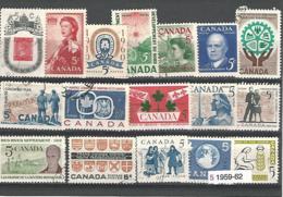 33698r ) Canada Collection Commemoratives 1959 1960 1961 1962 - 1952-.... Regno Di Elizabeth II
