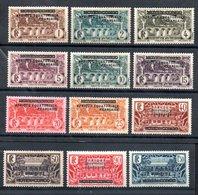 A.E.F. Y&T 1**, 2* - 9*, 12*, 13* - A.E.F. (1936-1958)