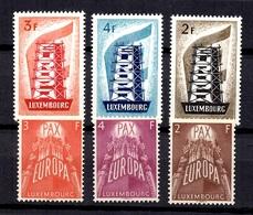 Luxembourg YT N° 514/516 Et N° 531/533 Neufs *. B/TB. A Saisir! - Lussemburgo