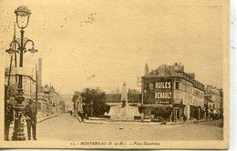 -77-SEINE Et MARNE - MONTEREAU - Place Gambetta - Montereau