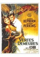 Audrey Hepburn Anthony Perkins Illustrateur Roger Soubie - Afiches En Tarjetas