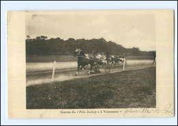 Y12164/ Trabrennen  Prix Jockey à Vincennes Frankreich AK Pferde 1935 - Frankreich