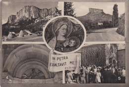 REGGIO EMILIA - CARTOLINA - LA MADONNA DI BISMANTOVA - VIAGGIATA FRANCOBOLLO ASPORTATO - Reggio Nell'Emilia