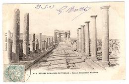 TIMGAD - Ruines Romaines De Timgad - 8 - Voie De Decumanus Maximus - Ed. Collection Idéale P. S. - Argelia