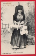 Bressane Allant Au Marché - Costumes