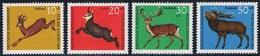 Allemagne Fédérale - Animaux 364/367 (année 1966) ** - Stamps