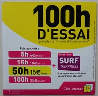 - Pochette CD ROM De Connexion Internet - CLUB INTERNET - - Kits De Connexion Internet