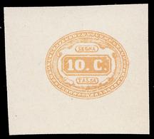 Italia Regno - Segnatasse: Ovale Con Valore Al Centro 10 C. Ocra - 1863 - 1861-78 Victor Emmanuel II