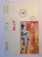 Dumont D'Urville 6 8 1995 1er Jour 40e Ann. Création Du Territoire - Terres Australes Et Antarctiques Françaises (TAAF)