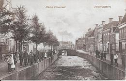 Harlingen Kleine Voorstraat Gelopen 7-5-1929 Treinblokstempel En Bestellersstempel - Harlingen