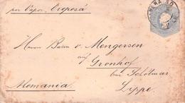 CHILE - GANZSACHE BRIEF 1900 - GUT GRONHOF BEI SCHÖTMAR /ak568 - Chili