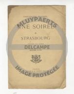 """/!\ 7145 - Livret Roman - """"Une Soirée à Strasbourg"""" - Theodore Botrel - 1907 - Livres, BD, Revues"""
