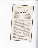 V.DE DOBBELAERE °KNESSELARE 1886 +RONSELE-ZOMERGEM 1950 (I.BARBIER) - Devotion Images