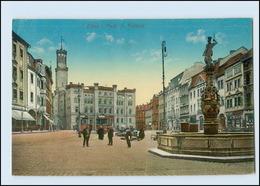 M916-027./ Zittau Markt Mit Rathaus 1915 AK - Germany