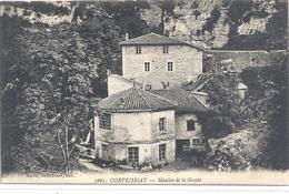 5661. CORVEISSIAT . MOULIN DE LA GROTTE . CARTE NON ECRITE - Autres Communes