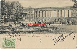 Warszawa - Le Jardin De Saxe - Polen